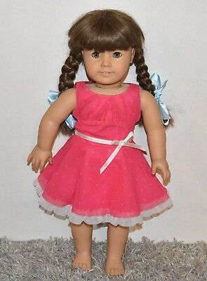 nice American Girl Doll MOLLY Pleasant Company Early Older Version No Clothes