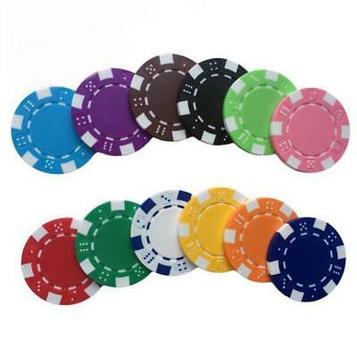 20 PCS/LOT Poker Chips 11.5g Iron/ABS Classic Casino Texas Hold'em Chips