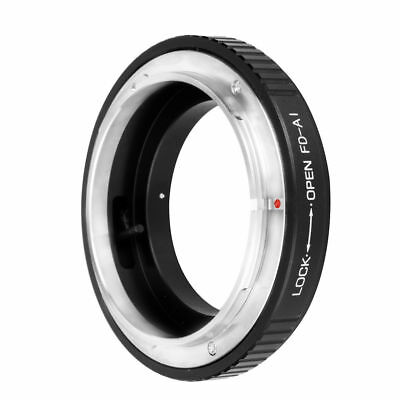 Adapter Ring For Canon FD FL Lens to Nikon F Mount Camera D300 D3200 D3100 DC182