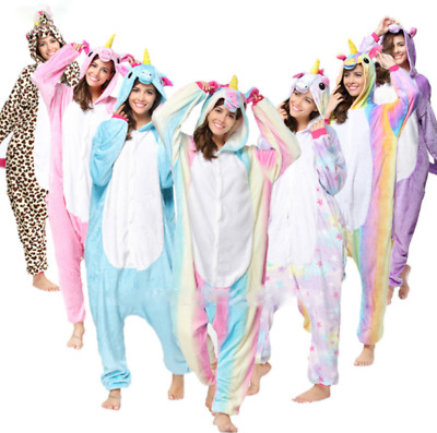 Pigiama kigurumi costume unicorn carnevale adulti cosplay animali tuta party HOT