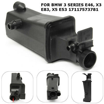 Radiator Coolant Overflow Expansion Tank Bottle For BMW 3 SERIES E46 X3 E83 E53