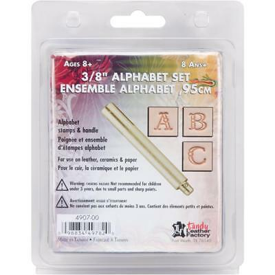 Alphabet Leather Stamping Set - Ideal for embossing belts, handbags, accessories