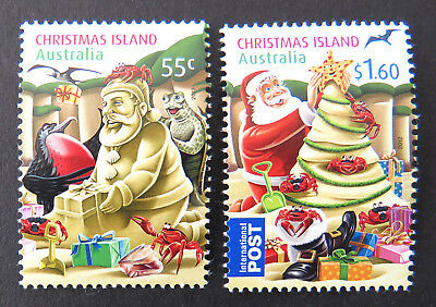 2012 Christmas Island Stamps - Christmas - Set of 2 MNH