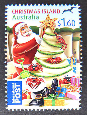 2012 Christmas Island Stamps - Christmas - Single $1.60 MNH