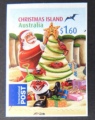 2012 Christmas Island Stamps - Christmas - Single $1.60 P&S MNH
