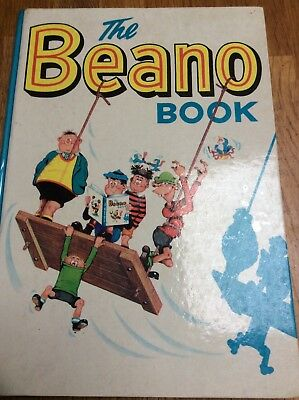 Rare The Beano Book 1963 excellent condition no stains or rips or colouring in