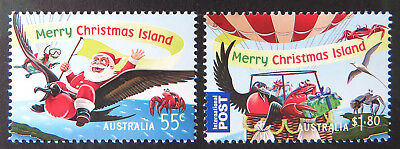 2013 Christmas Island Stamps - Christmas - Set of 2 MNH