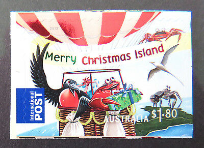 2013 Christmas Island Stamps - Christmas - P&S Single $1.80 Int'l Post MNH