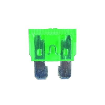 CONNECT Vehicle Maintenance Fuses - Standard Blade - Green - 30A - Pack Of 50