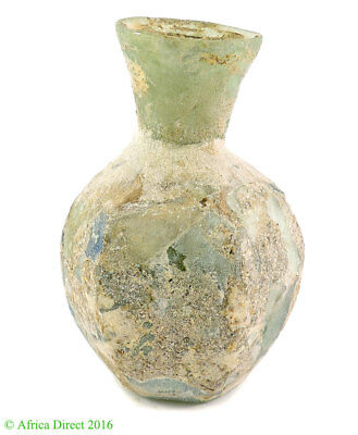 Ancient Roman Glass Vase 3.25 Inch
