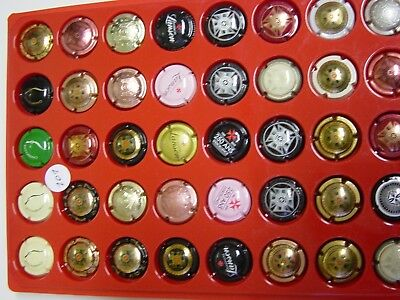 Capsules champagne lot 101