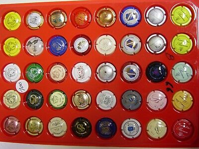 Capsules champagne lot 100