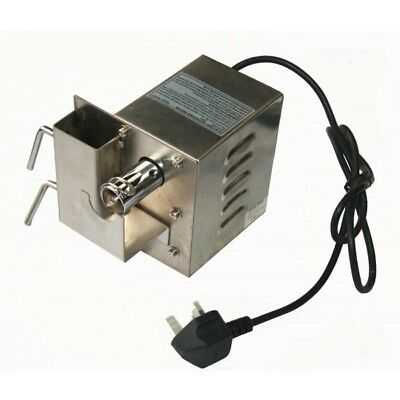 Stainless Steel Bbq Rotisserie Hog Roast Spit Motor Electric Mains Up To 25Kg