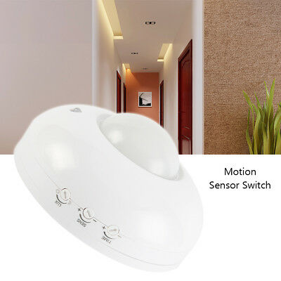 Surface Mount PIR Ceiling Occupancy Motion Sensor Detector Light Switch 360°