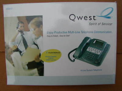 Qwest Nsq412 4Line Phone Fits, Century Link, Frontier Verizon Etc.- New In Box
