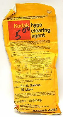 Kodak Hypo Clearing Agent to make 5 Gallons