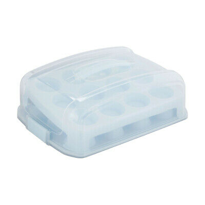 24 Cupcake Cake Holder Tray Carrier Case Muffin Stand Box Food Container Storage