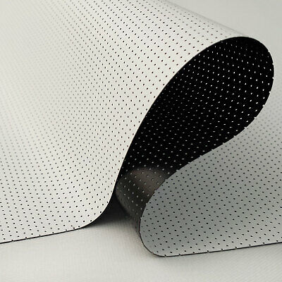 Carl's 7% Nano Perforated Acoustic FlexiWhite Projector Screen Material HomeThtr