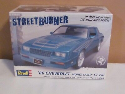 Revell 1:24 Scale 1986 Chevrolet Monte Carlo Ss Factory Sealed Model Kit !!!