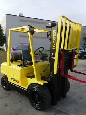 Pneumatic Forklift: Hyster H50XM