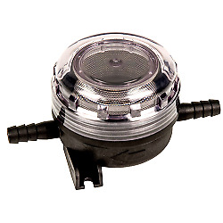 """3/8"""" ID Hose Pump Inlet Strainer with 40 mesh (Fine) SS Filter Screen"""
