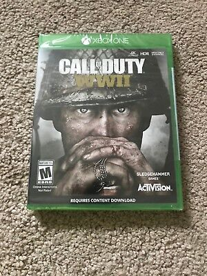 Call of Duty: WWII Xbox ONE Brand New *Factory Sealed*