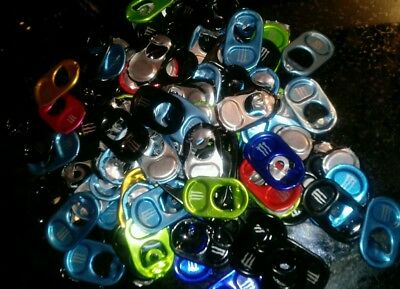 100 Monster Energy Can Tabs For Monster Gear different colors Crafts