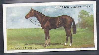 Ogdens-Derby Entrants 1928-#22- Horse Racing - International