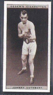 Ogdens-Pugilists In Action-#13- Boxing - Johnny Cuthbert