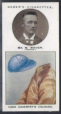 Ogdens-Trainers & Owners Horse Racing Colours (1St Series)-#24- Waugh