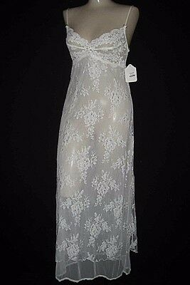 Claire Pettibone Gown Long Bridal Couture ANGELICA Ivory White Lace S NWT $195