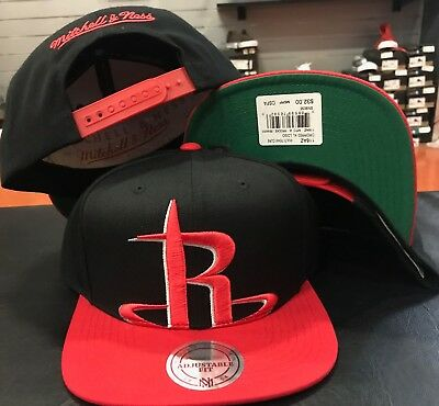 quality design d0dc2 5df99 ... where to buy mitchell ness houston rockets cropped xl logo team snapback  snap cap hat nba