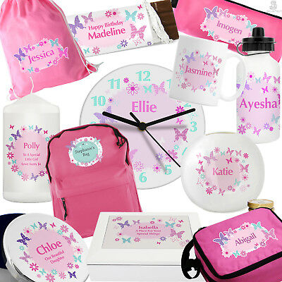 PERSONALISED Girls Birthday Gifts. PINK Presents For Her. Daughter Grandaughter