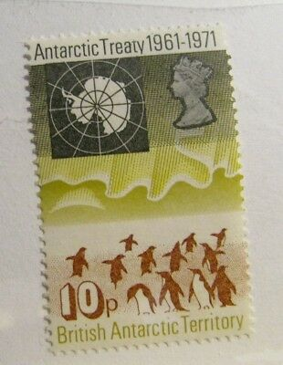 BRITISH ANTARCTIC TERRITORY Sc #42 ** MNH, very fine postage stamp. birds