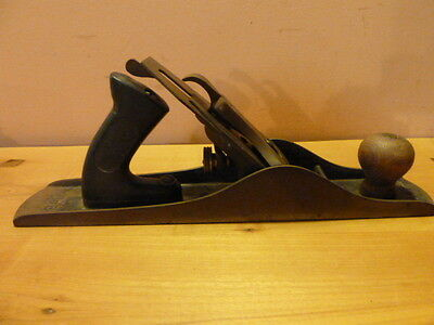 Rare Vintage Shapleigh Hardware Co. Diamond Edge #5 Smoothing Plane/ Made IN USA