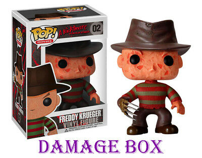 "DAMAGE BOX Funko Pop Freddy Krueger 3.75"" Vinyl Figure"