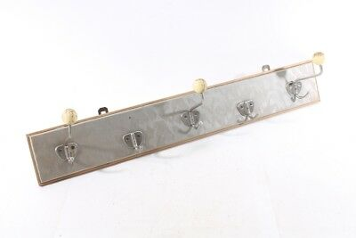 Beautiful Old Hook Strip Coat Rack Old Vintage Iconic Retro Design Frame Hook