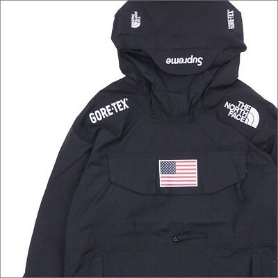 6701a683bd12 SUPREME x THE NORTH FACE TRANS ANTARCTICA PULLOVER GORETEX JACKET MEDIUM  BLACK
