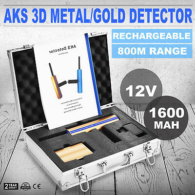 AKS metal Detector Multi-function 2016V Hunter detective 3D STRONG PACKING