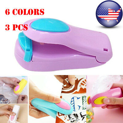 Lots Home Mini Sealing Machine Portable Heat Plastic Bag Impluse Handheld Sealer