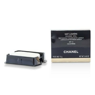 Chanel Mat Lumiere Matte Powder Makeup Refill 130 Extreme