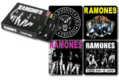 The Ramones Collectible Coasters Set of Four New And In Package
