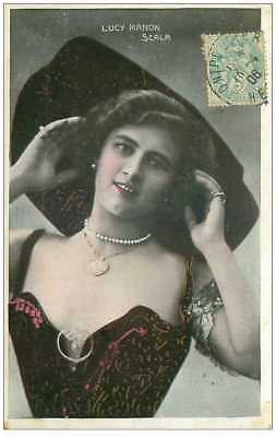 Actrices.n°18372.lucy Manon.scala