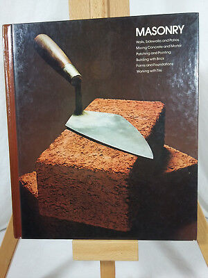 Life Books Home Repair And Improvement How To Do Masonry Hard Back Guide