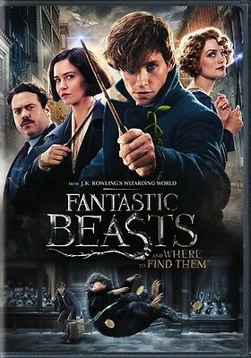 Fantastic Beasts and Where to Find Them (DVD,2016)