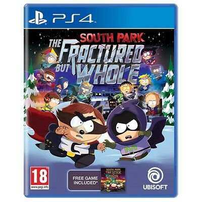 South Park The Fractured But Whole PS4 Game Brand New