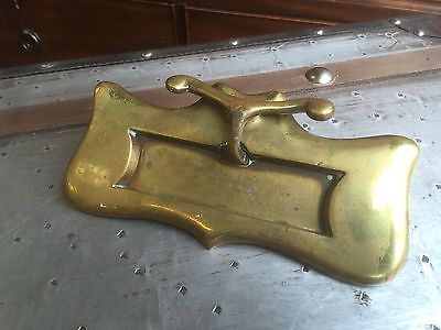 Superb Quality Edwardian Brass Letterbox. Open To Offers.