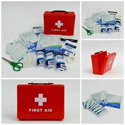 Small Emergency Burncare First Aid Kit in Compact Box / Refills & Burn Dressings