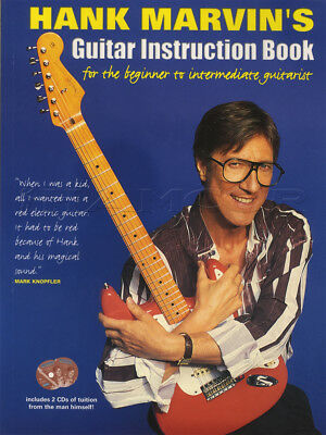 Hank Marvin's Guitar Instruction TAB Music Book/CDs Learn How To Play Method