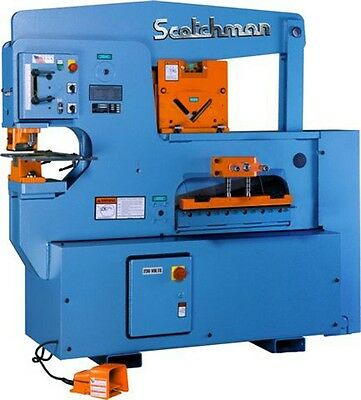 New Scotchman 9012-24M 90 Ton Ironworker Free Ship!